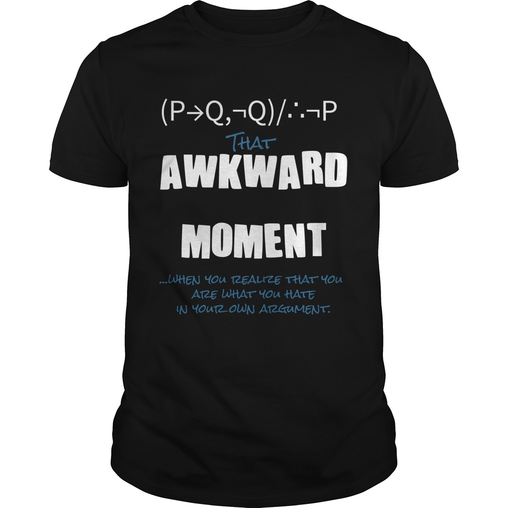 Modus Tollens T-Shirt -- $19.99