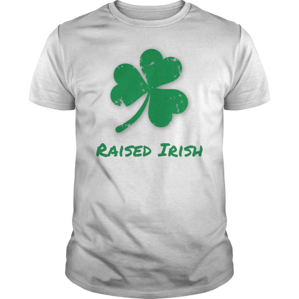 Raised Irish T-Shirt -- $19.99
