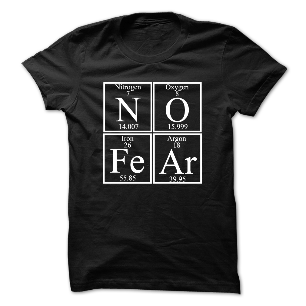 No Fear Chemistry T-Shirt -- 19.00